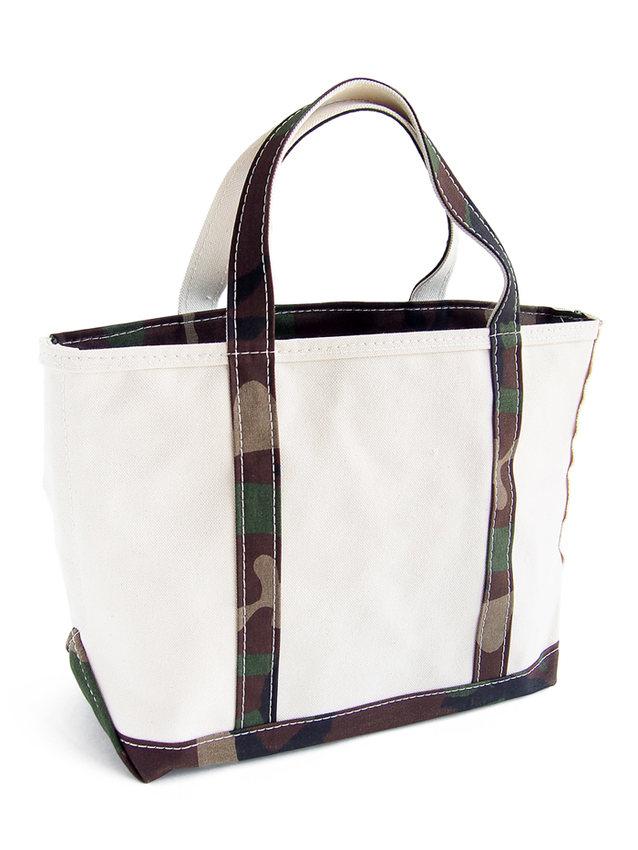 画像1: L.L.Bean   boat and tote bag zip-top (Irregular) regular handle CAMO (M) (1)