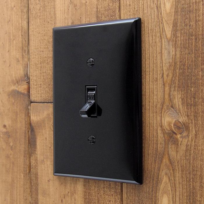 画像1: Leviton switch set BK (1)