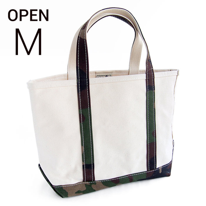 画像1: L.L.Bean   boat and tote bag open-top (Irregular) regular handle M CAMO (1)