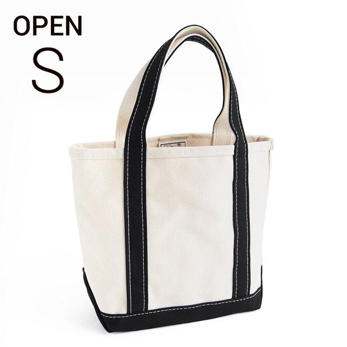 画像1: L.L.Bean boat and tote bag open-top (Irregular) regular handle S BLACK  (1)