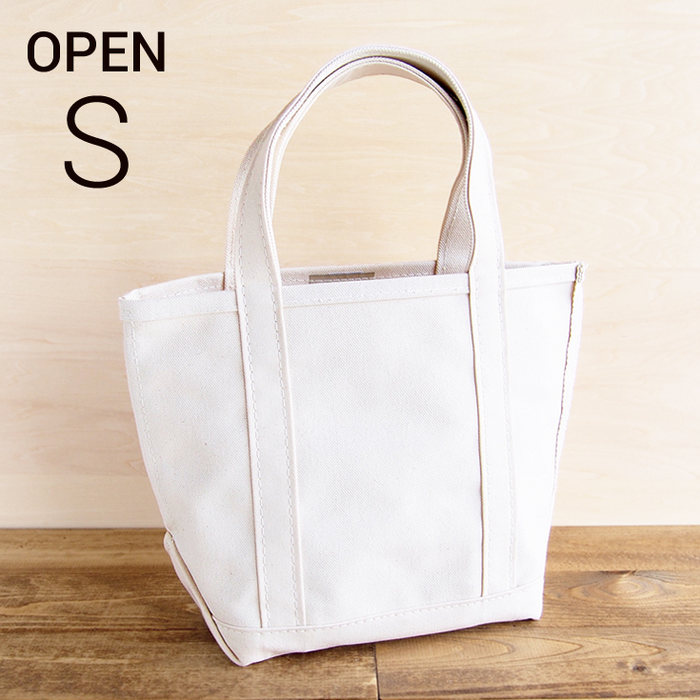 画像1: L.L.Bean  boat and tote bag open-top (Irregular) regular handle S NATURAL (1)