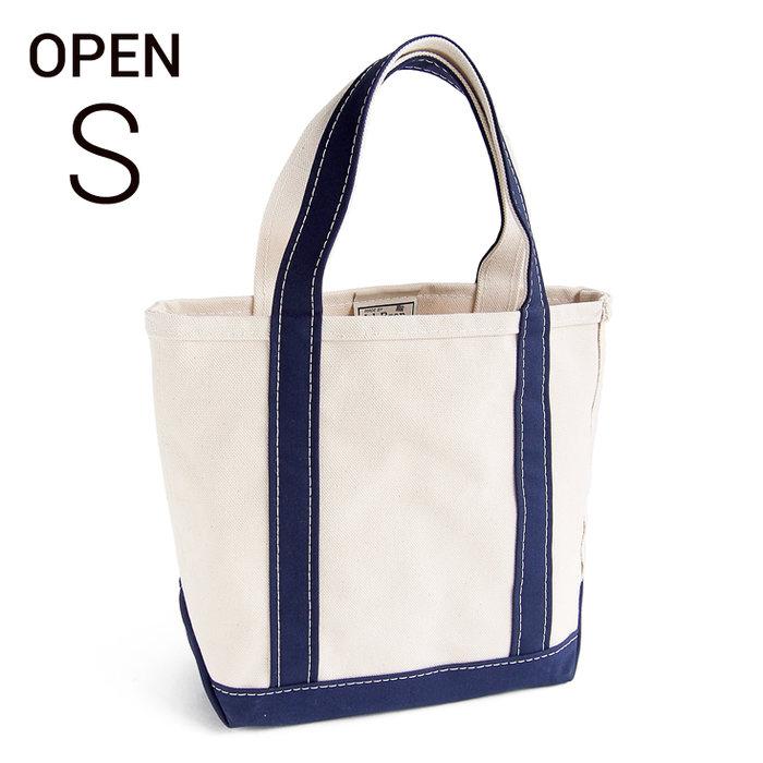 画像1: L.L.Bean boat and tote bag open-top (Irregular) regular handle S BLUE (1)