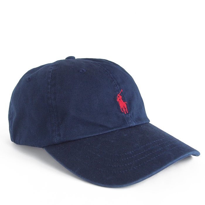 画像1: POLO RALPH LAUREN  signature pony baseball cap NAV (1)