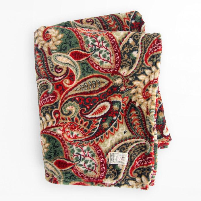 画像1: RALPHLAUREN HOME  throw blanket PAISLEY (1)