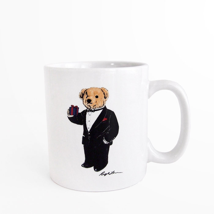 画像1: RALPH LAUREN HOME  polo bear mug (1)