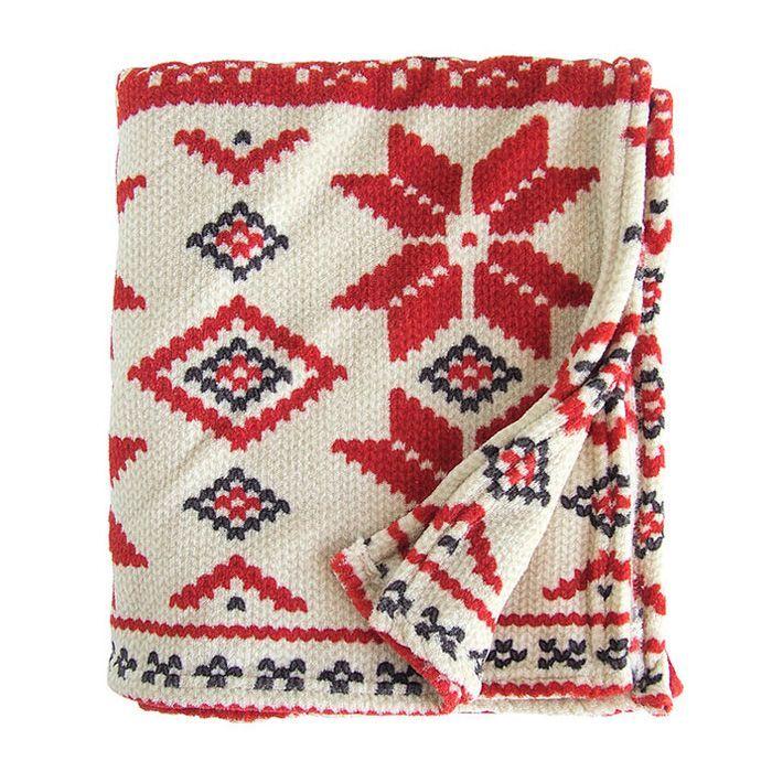 画像1: RALPHLAUREN HOME  throw blanket NORDIC (1)
