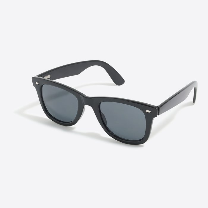 画像1: J.CREW   wayfarer sunglasses BLK (1)