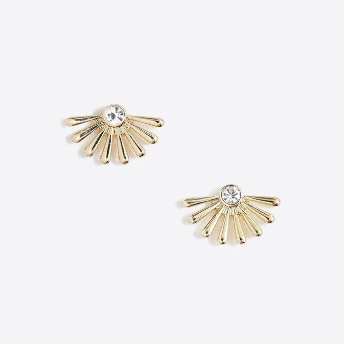 画像1: J.CREW WOMEN  ray of sunshine stud earrings (1)