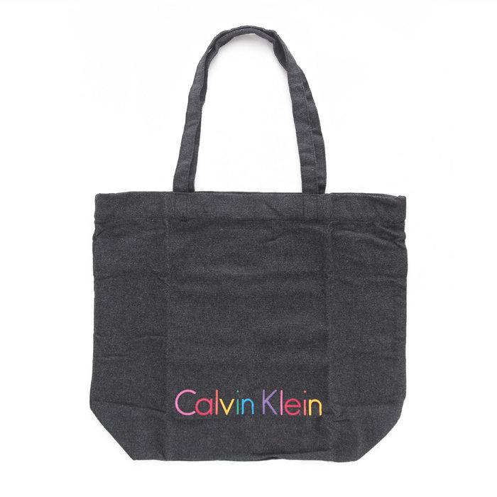 画像1: Calvin Klein  sustainable logo tote bag MULTI (1)