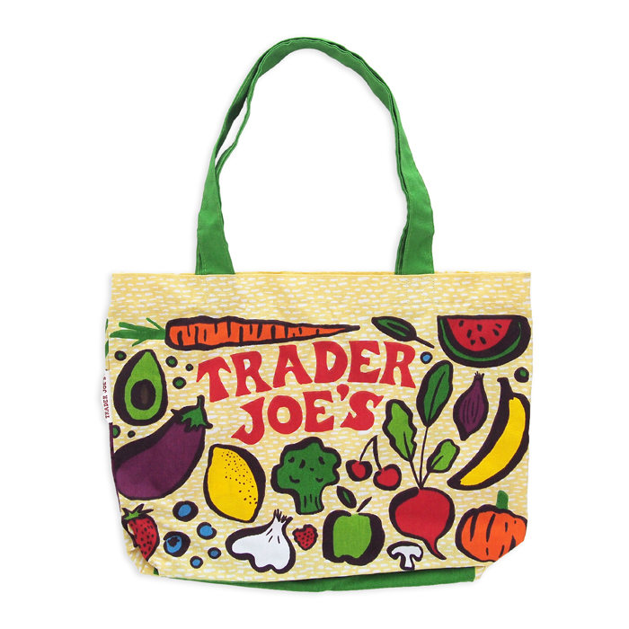 画像1: Trader Joe's  canvas tote bag fresh produce (1)