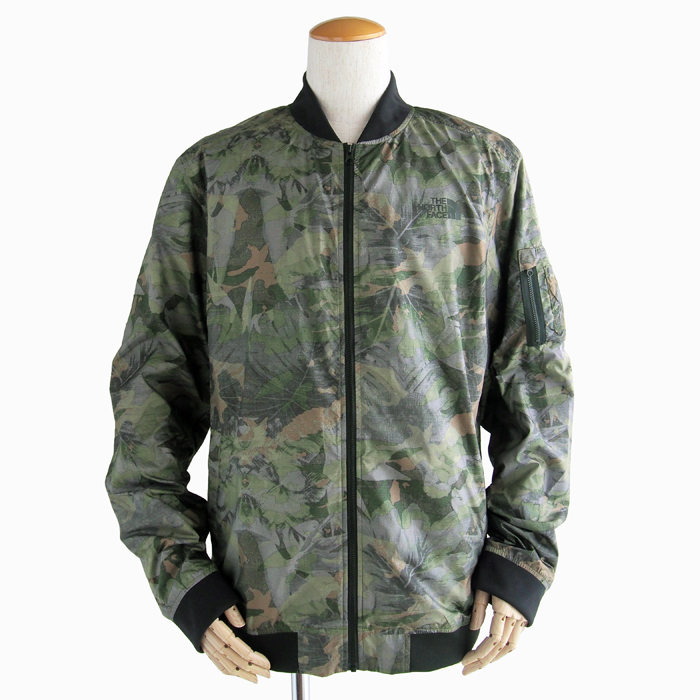 画像1: THE NORTH FACE  meaford II bomber jacket  CAMO (1)