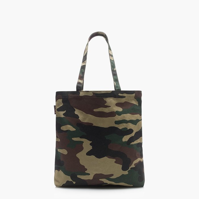 画像1: J.CREW WOMAN  reusable everyday tote in camo (1)