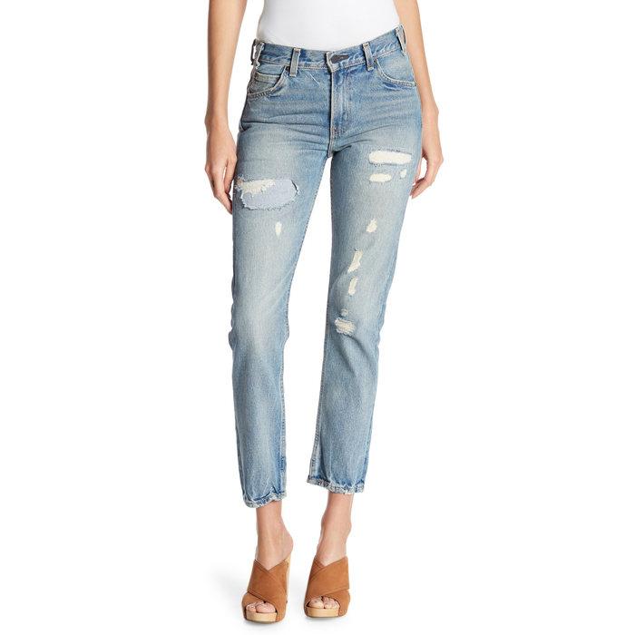 画像1: Levi's  505C cropped jeans W24 (1)