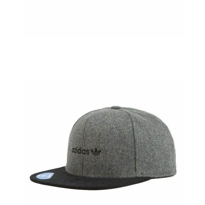 画像1: adidas Originals  trefoil plus snap-back cap (1)