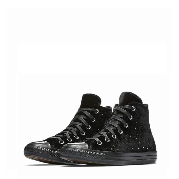 画像1: CONVERSE WOMAN  Chuck Taylor All Star Velvet Studs High Top 24.5cm (1)