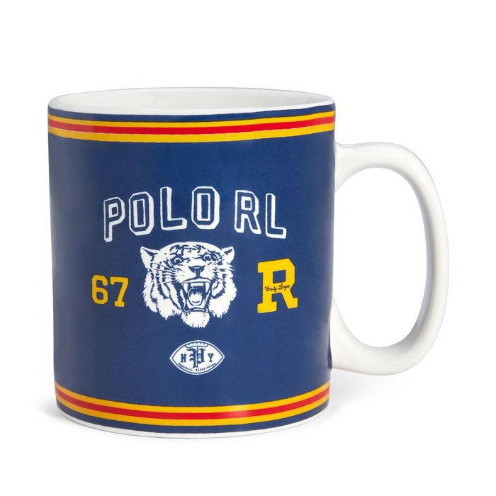 画像1: RALPH LAUREN HOME  polo tiger mug (1)