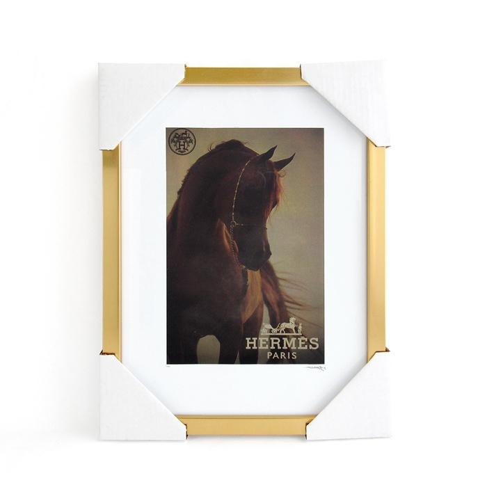 画像1: Fairchild Paris  Hermes art poster frame (1)