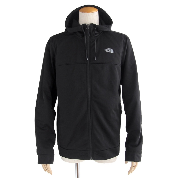 画像1: THE NORTH FACE  100 cinder full zip hoodie jacket BK (S) (1)