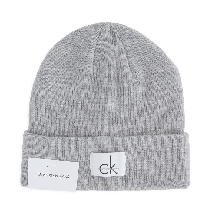 画像1: Calvin Klein Jeans  signature knit cap LGY (1)