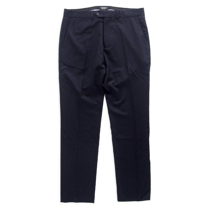 画像1: Todd Snyder  wool pleated trouser NAV (34/32) (1)