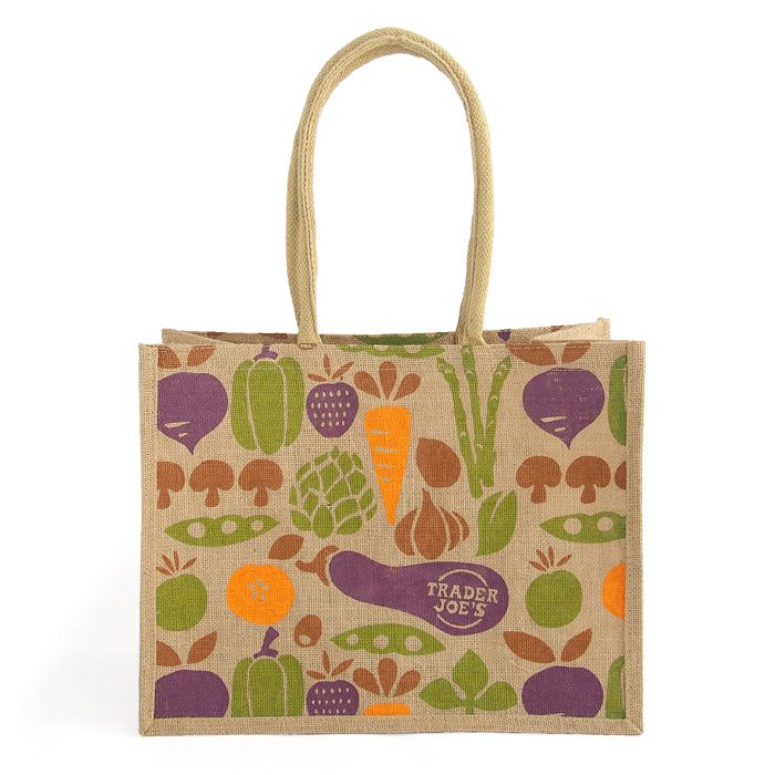 画像1: Trader Joe's  jute tote bag (1)