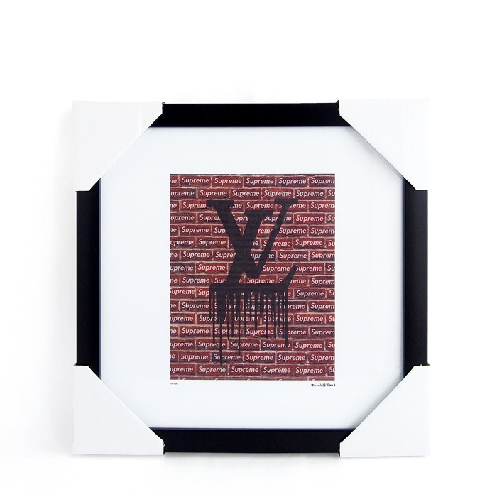 画像1: Fairchild Paris  Louis Vuitton × Supreme art poster frame (1)