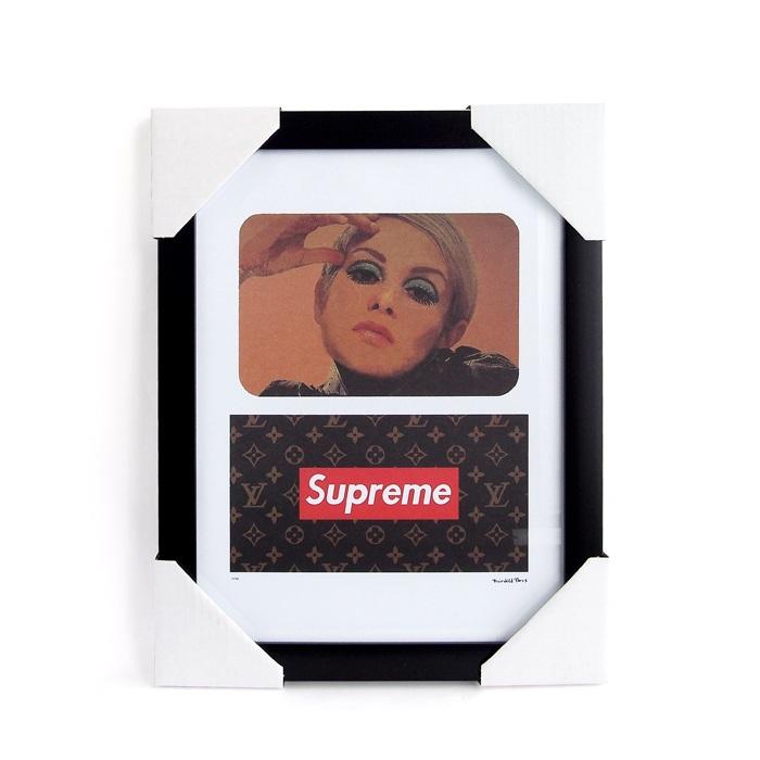 画像1: Fairchild Paris  Louis Vuitton × Supreme art poster frame (1)