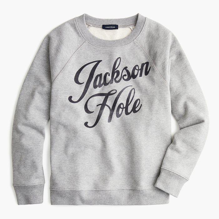 """画像1: J.CREW WOMEN  """"Jackson Hole"""" sweatshirt (1)"""