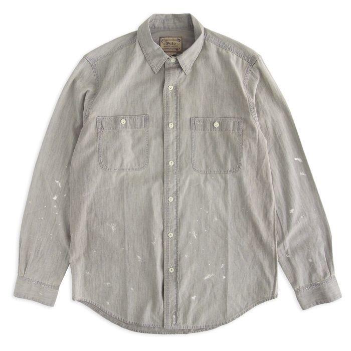 画像1: POLO RALPH LAUREN  AUTHENTIC DENIM GOODS denim shirts  (1)