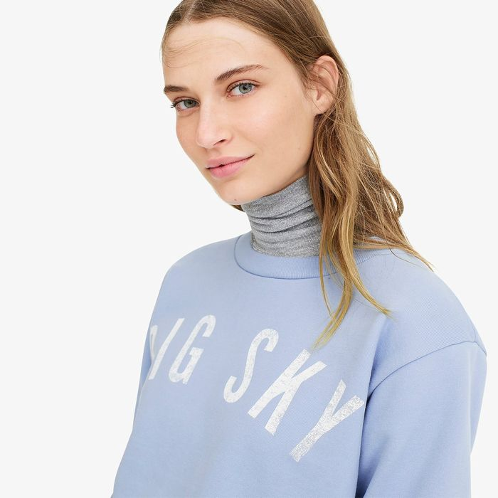 "画像1: J.CREW WOMEN  ""Big Sky"" sweatshirt (XS) (1)"