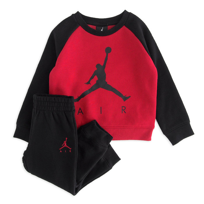 画像1: NIKE BOYS  jordan sweatsuit pants 2piece set (1-2歳) (1)