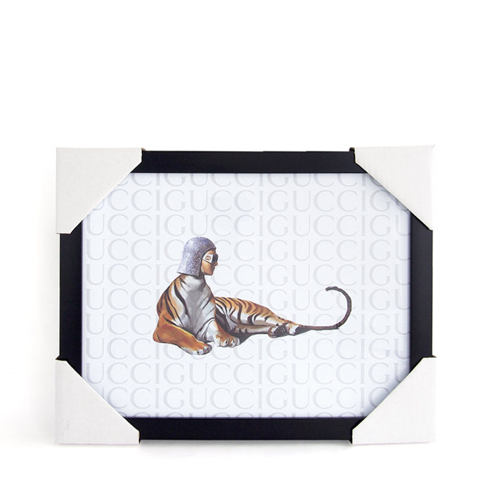 画像1: Fairchild Paris  GUCCI art poster frame (1)
