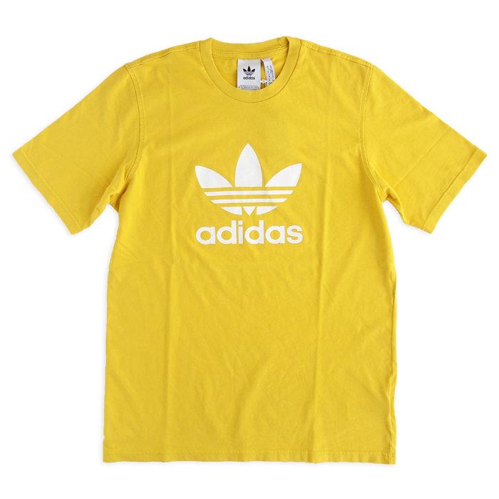 画像1: adidas Originals   trefoil logo tee YE (1)