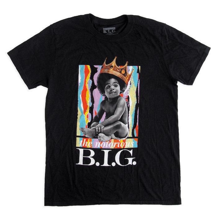 画像1: The Notorious B.I.G.  Brooklyn Mint cotton crewneck t-shirts (1)