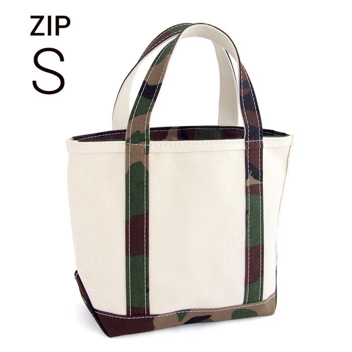画像1: L.L.Bean   boat and tote bag Zip-top (Irregular) regular handle S CAMO (1)