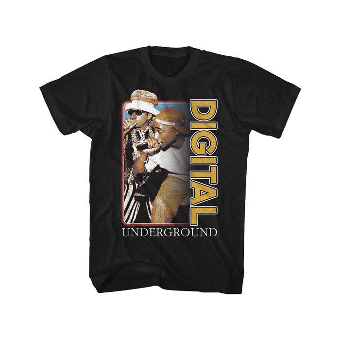 画像1: Digital Underground   print t-shirts (L) (1)