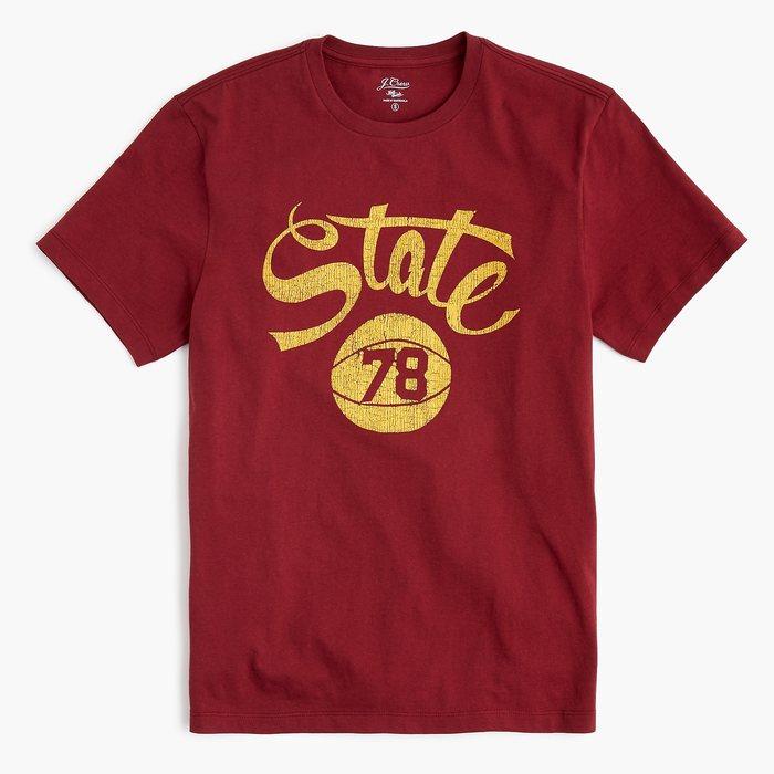 画像1: J.CREW   state graphic t-shirt (1)