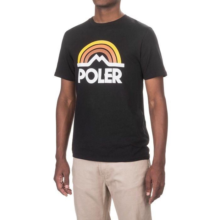 画像1: POLeR OUTDOOR STUFF   mountain rainbow t-Shirt (1)