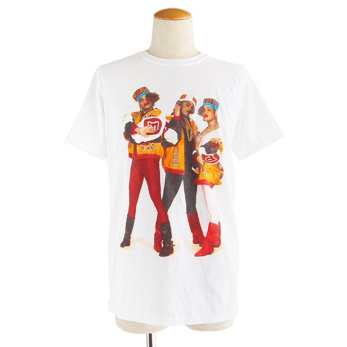 画像1: Salt N' Pepa  cotton crewneck t-shirts WH (M) (1)