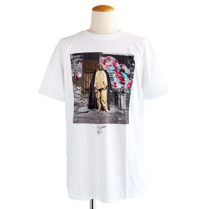画像1: The Notorious B.I.G.  Brooklyn Mint cotton crewneck t-shirts WH (L) (1)