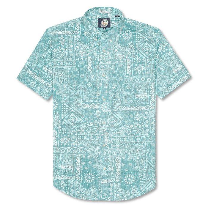 画像1: Reyn Spooner   aloha bandana shirt  (1)