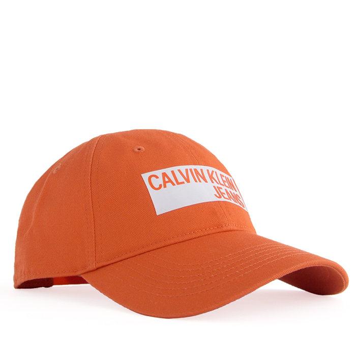 画像1: Calvin Klein Jeans  signature 6panel cap OR (1)