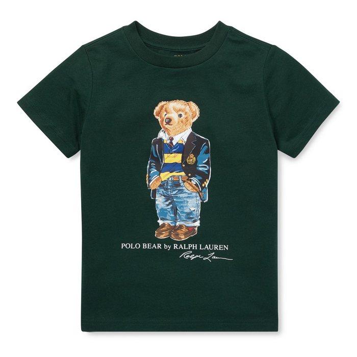 画像1: POLO RALPH LAUREN BOYS  polo bear cotton t-shirt  (1)