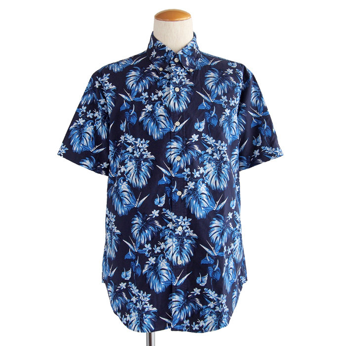 画像1: POLO RALPH LAUREN  botanical print shirts  (1)