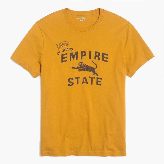 画像1: J.CREW   empire state t-shirt (1)