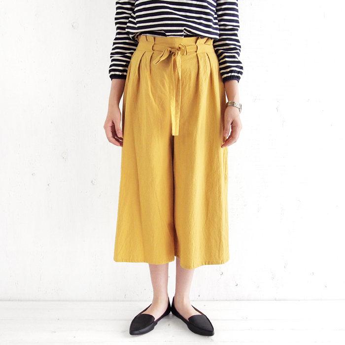 画像1: SIENNA SKY  wide leg pants (S) (1)
