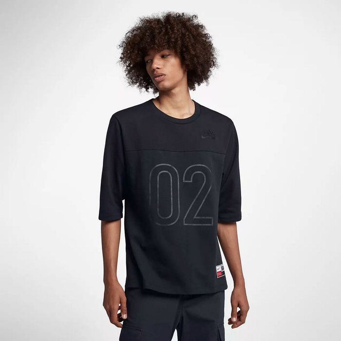 画像1: NIKE SB    dri-fIT 3/4-sleeve top 2color (1)