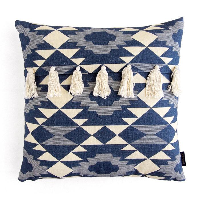 画像1: PENDLETON  yuma star tassel fringe square pillow (1)