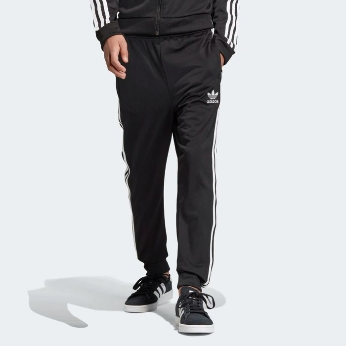 画像1: adidas Originals KIDS  superstar track pants (BOYS M-L) (1)