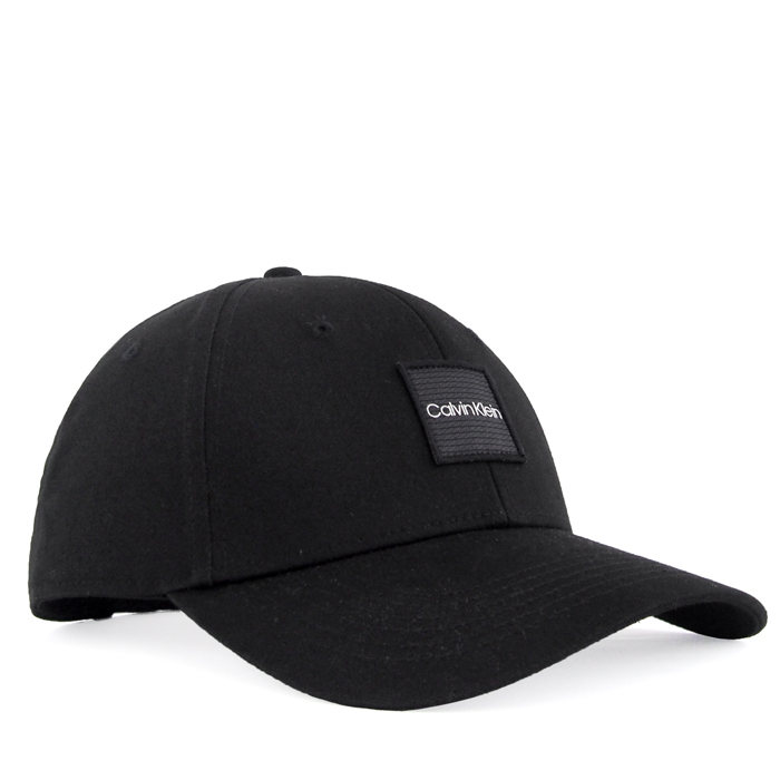 画像1: Calvin Klein  signature 6panel cap BK (1)